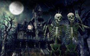 Haunted-House-Skeletons-Widescreen-Wallpaper