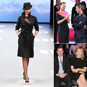 Miranda-Kerr-Models-New-Qantas-Uniform-Sydney