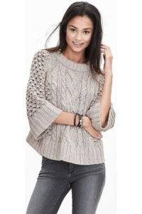 Jerseis-de-mujer-Fisherman-Stitch-Pullover