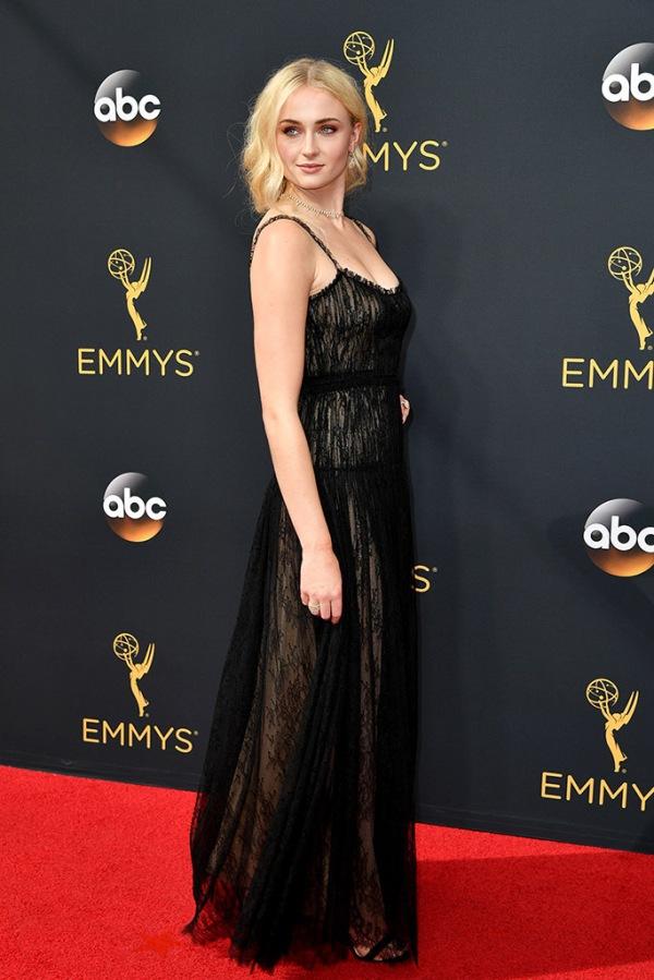 Mandatory Credit: Photo by Rob Latour/Variety/REX/Shutterstock (5899047az)Sophie Turner68th Primetime Emmy Awards, Arrivals, Los Angeles, USA - 18 Sep 2016